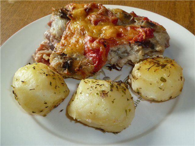 Mięso z sosem beszamelowym - ciekawe przepisy