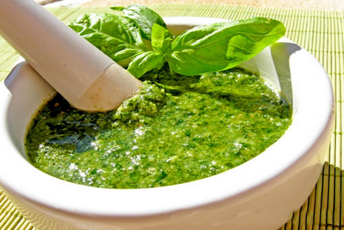 Zielony sos