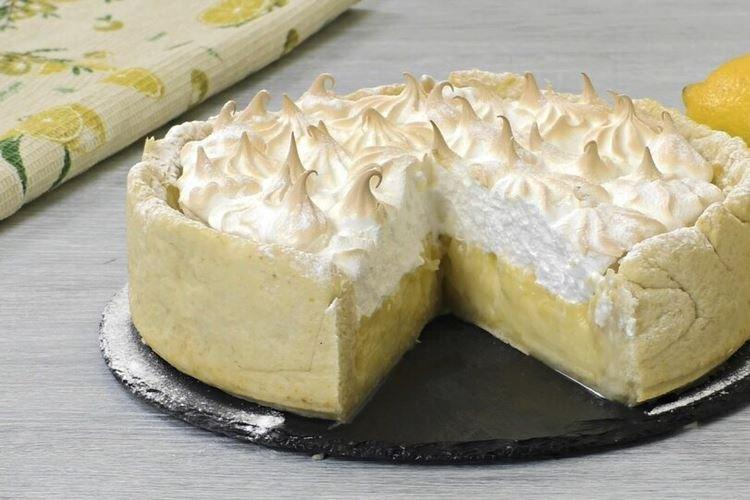 Cytrynowe ciasto bezowe - przepisy kulinarne
