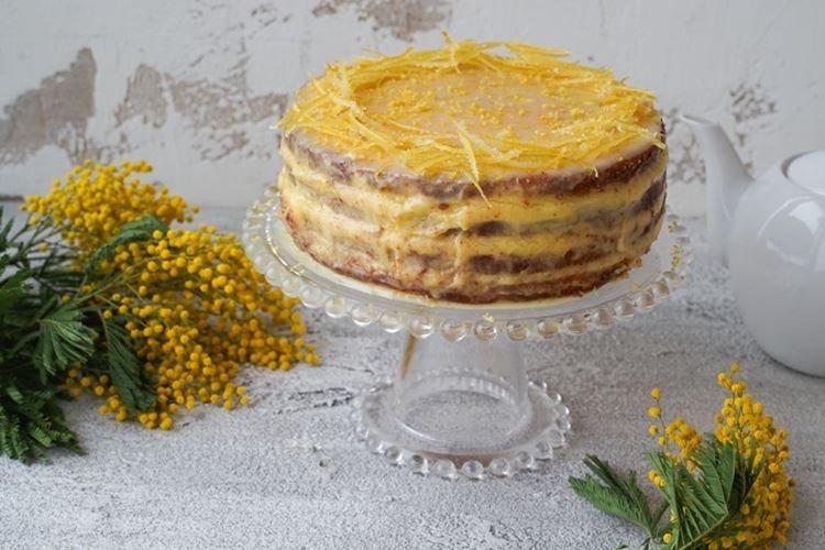 Cytrynowa tarta lukierska - przepisy kulinarne