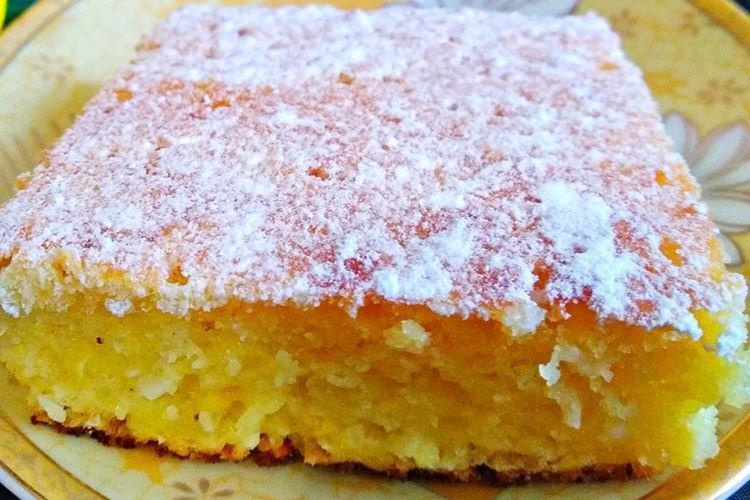Ciasto cytrynowo-kokosowe - przepisy kulinarne