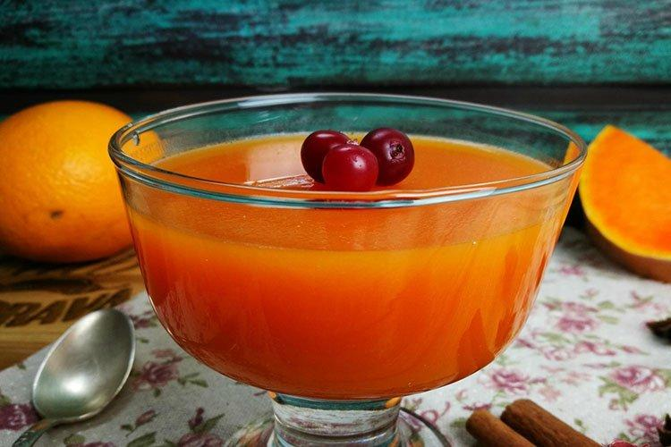 Galaretka z dynią Jesienna złocista - przepisy kulinarne
