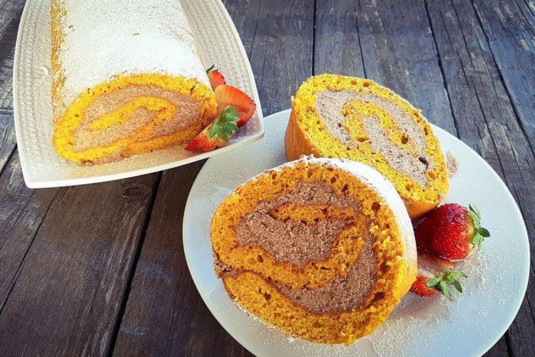 Ciasto dyniowe ze śmietaną - przepisy kulinarne