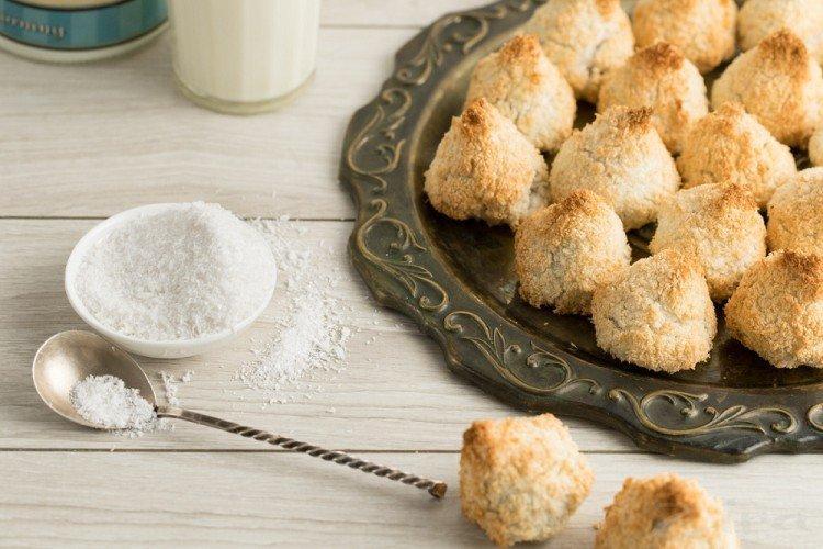 Ciasteczka kokosowe - domowe ciasteczka proste i pyszne przepisy