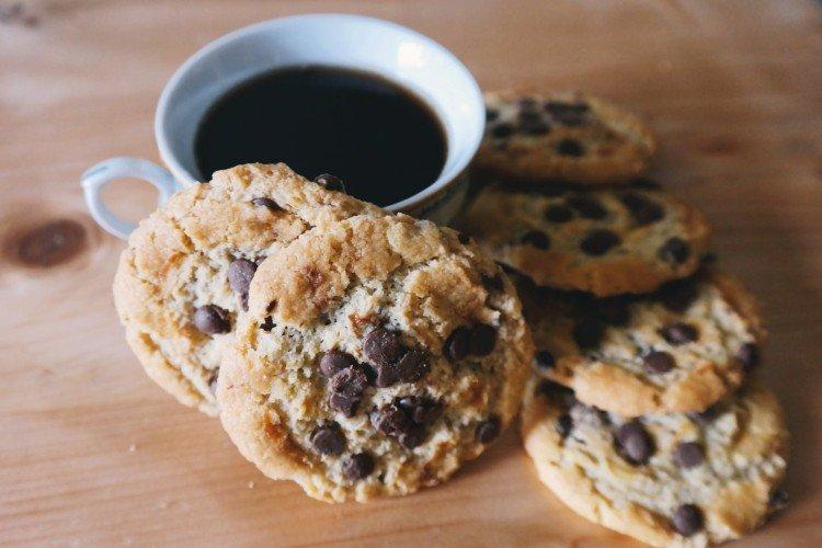 Ciasteczka Czekoladowe Drip - domowe ciasteczka proste i pyszne przepisy