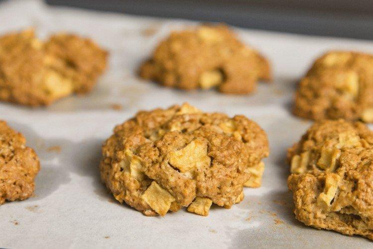 Ciasteczka jabłkowe - domowe ciasteczka proste i pyszne przepisy