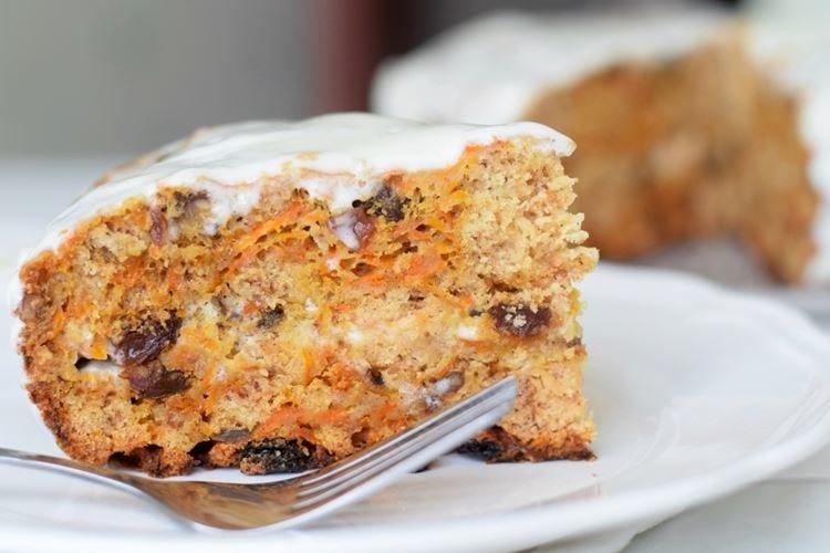 Ciasto marchewkowe bez cukru - przepisy kulinarne