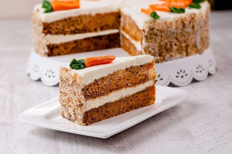 Ciasto marchewkowe z cytryną - przepisy kulinarne
